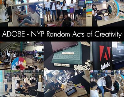 Adobe - NYP Random Acts of Creativity