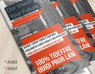Corporate Tri-fold Brochure Vol 8