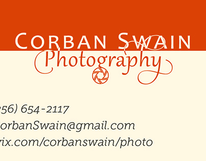 C.S. Photography Logo and Business Card