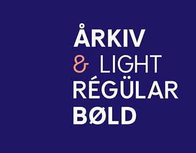 Arkiv Typeface