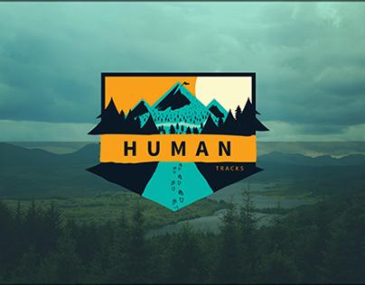 Logo fir Human tracks