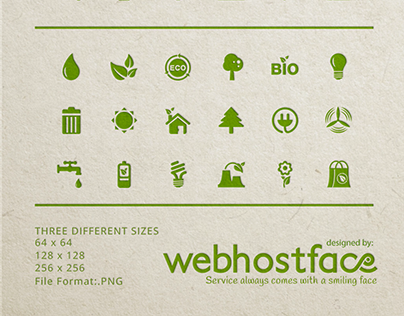 Free Eco Icons to a Sustainable Design Future