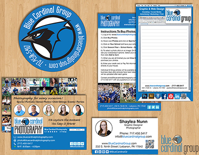 Blue Cardinal Group Re-Branding, 2014.