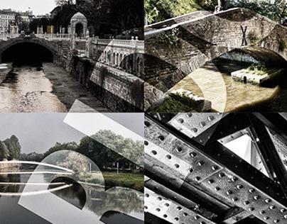 Collage series - Bridge