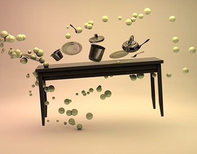 Dancing furniture