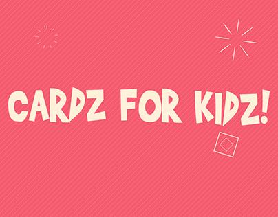 Cardz For Kidz Video