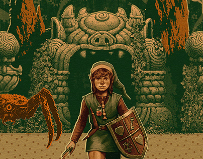 THE LEGEND OF ZELDA - The Lost Posters