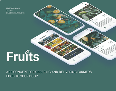 Fruits - farmers food delivery app