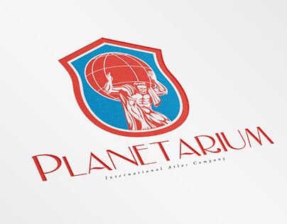Planetarium International Atlas Company Logo