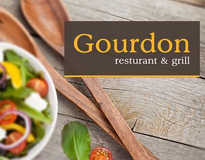 Photoshop web design – Il Gourdon