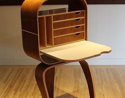 Camille Floor Desk