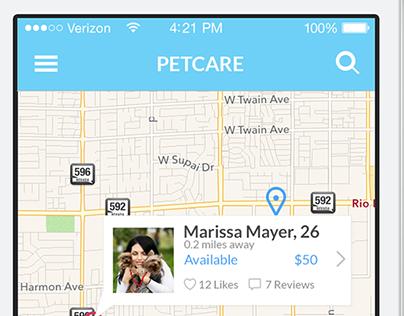 PetCare - iOS app project