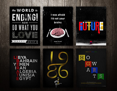 Posters in Black
