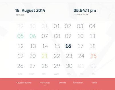 Calender App