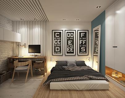 Apartment 40 sq m