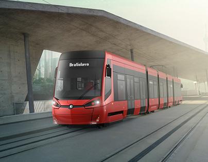 Škoda 29T/30T tram design