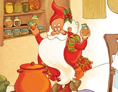 """Happy Farm"", for Grimm Press. Book illustrations"
