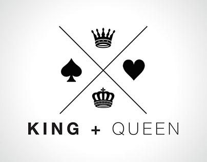 King and Queen Beverages - Logo Design