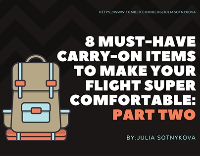 8 Must-Have Carry-On Items to Make Your Flight Super Co