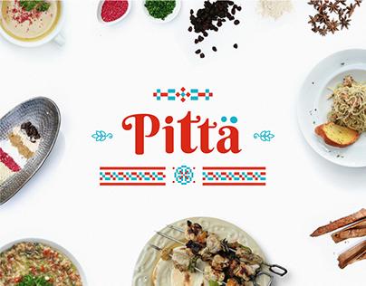 Pitta Mediterranean Resto & Bakery Branding