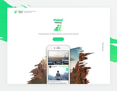 Painai Paiduay   Landing page