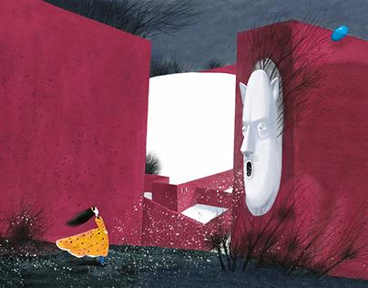 """""""The Red House"""" by Nastya Kovalenkova"""