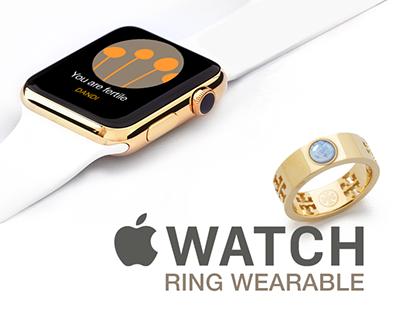 Dandi App: Ring Wearable and Apple Watch