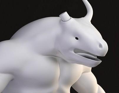 Nre - Personaje modelado para videojuego.
