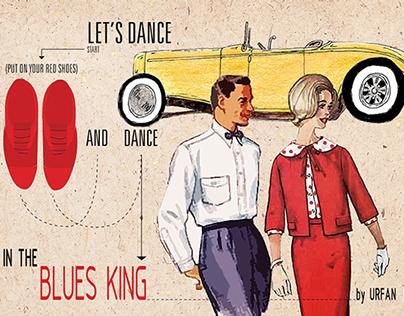 """Blues King"" Jazz club"
