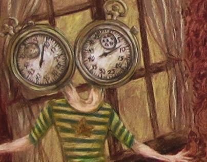 """Résultat de recherche d'images pour """"two clocks painting"""""""
