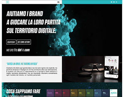 Website Layout for Accentra