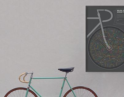 Milan, show me where to bike