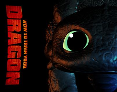 Toothless - ZBrush Model