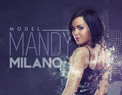 Mandy Milano Retouching