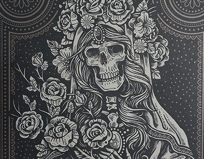 Sacred Virgin - Art Print