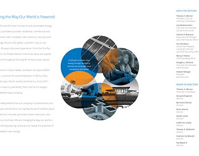 SunPower Annual Report cover