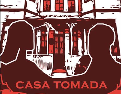 Capa do Conto Casa Tomada
