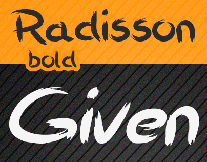 Radisson Font