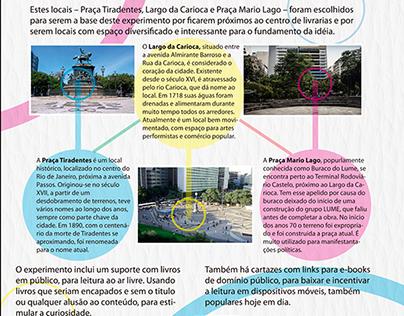 O estado da leitura no centro do Rio de Janeiro