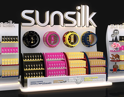 Sunsilk Fashion Edition Trade Display