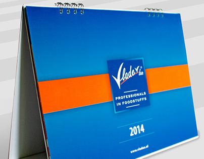 Calendar design - client: Vladex, The Netherlands