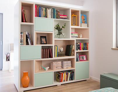 FI bookcase