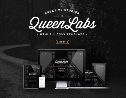QUEEN - Elegant One Page Parallax Template