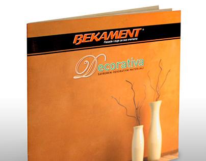 Decorativa - catalogue design
