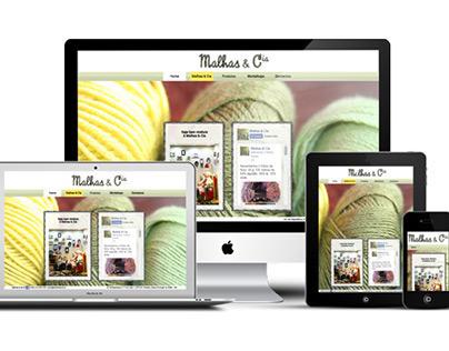 Malhas & Cia Web-Site