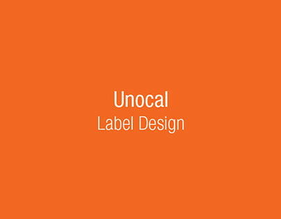Unocal - Label Dedign