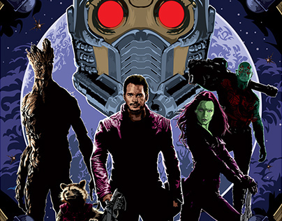 Poster Inspired By Guardians of the Galaxy