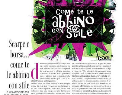 Illustrazione magazine Lusso Style / 2014