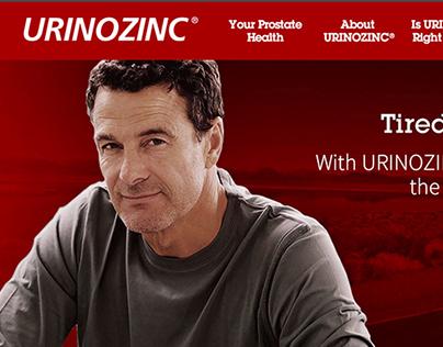 Urinozinc Website