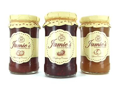 Branding for Jamie's Jam